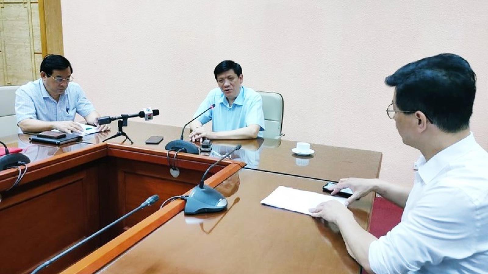 Năng lực xét nghiệm Covid-19 của Việt Nam là 31.000 mẫu/ngày