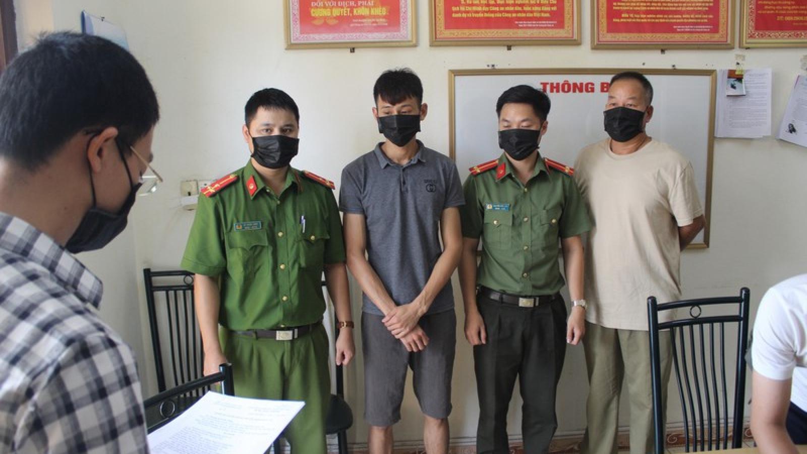 Khởi tố 3 đối tượng tổ chức đưa người nhập cảnh trái phép vào Việt Nam
