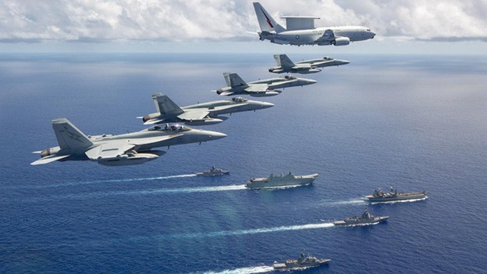 """Australia """"mạnh mẽ nhất từ trước đến nay"""" với Trung Quốc ở Biển Đông"""
