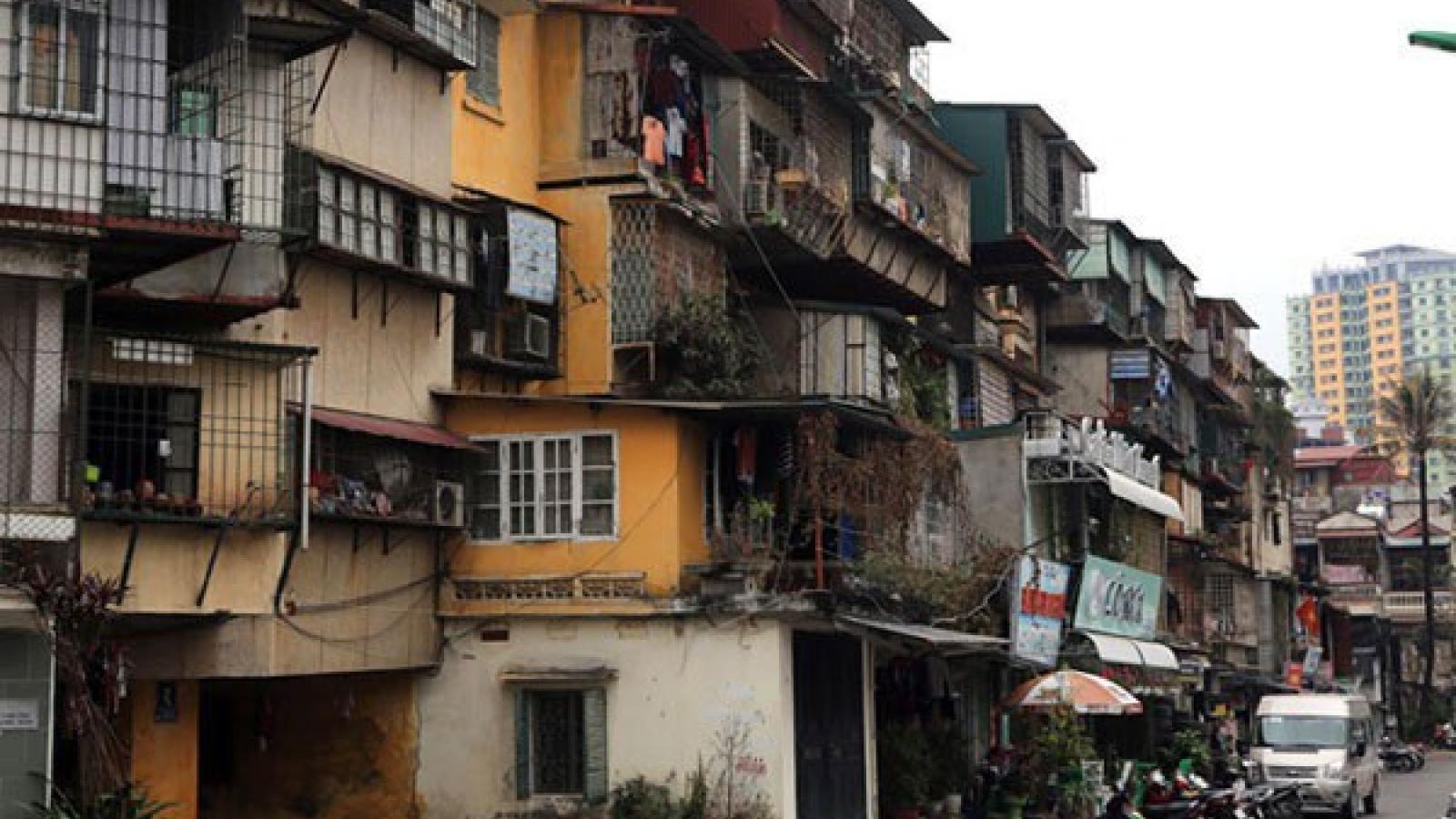 Vì sao việc cải tạo chung cư cũ tại Hà Nội vẫn bế tắc?