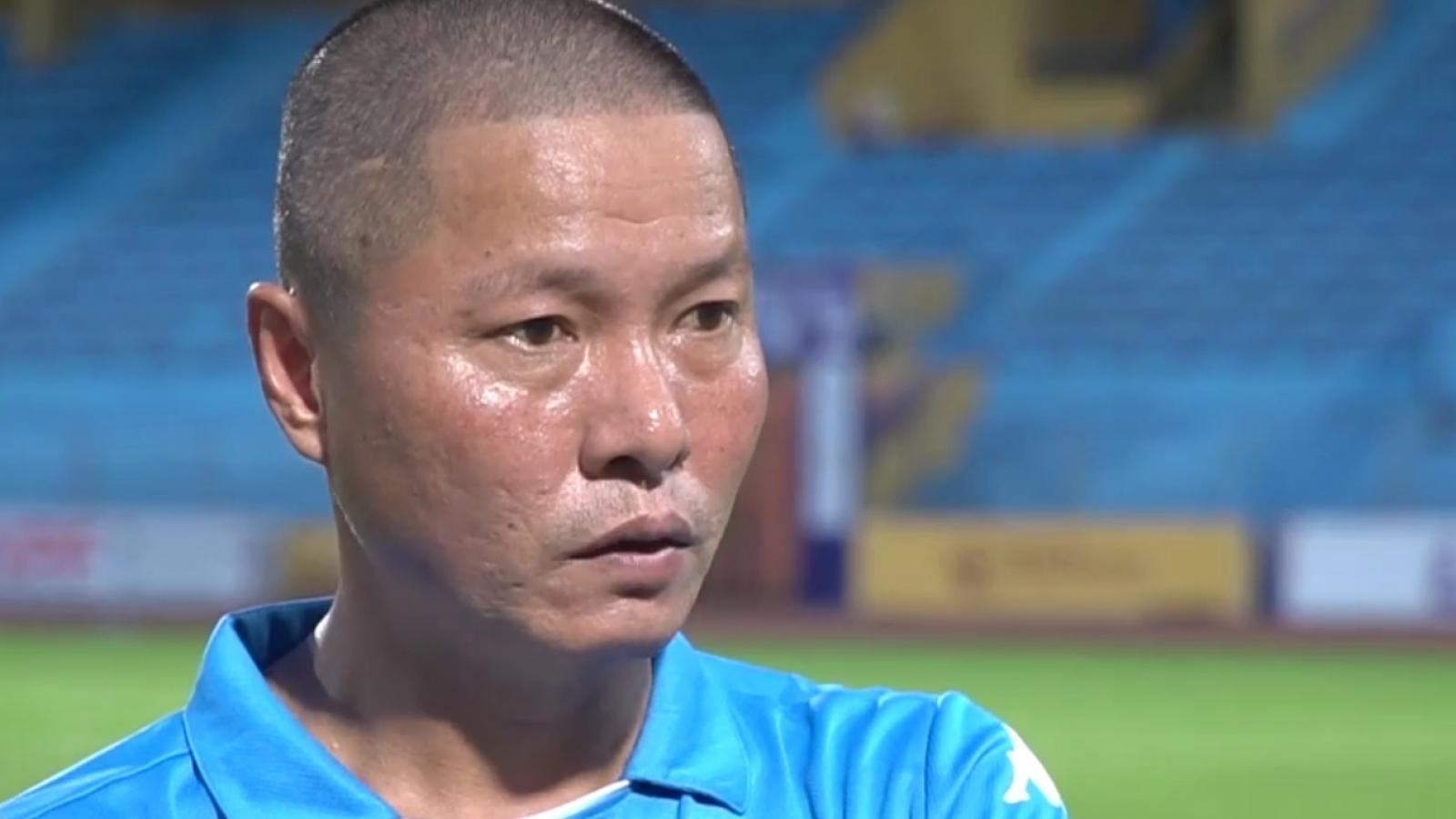 HLV Chu Đình Nghiêm nói gì trước trận đại chiến với CLB TPHCM?