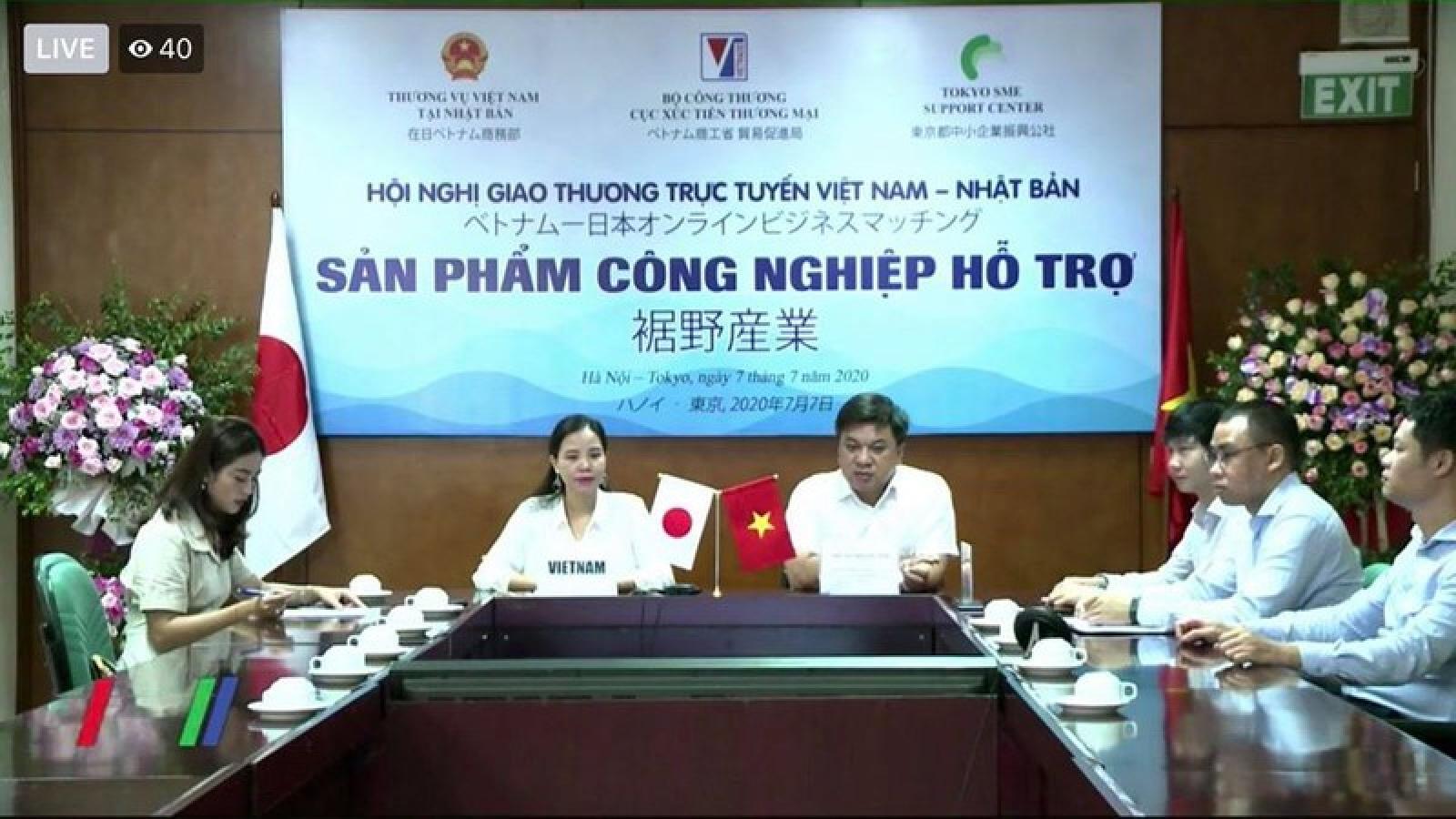 Tăng cường phát triển sản phẩm công nghiệp hỗ trợ Việt Nam-Nhật Bản