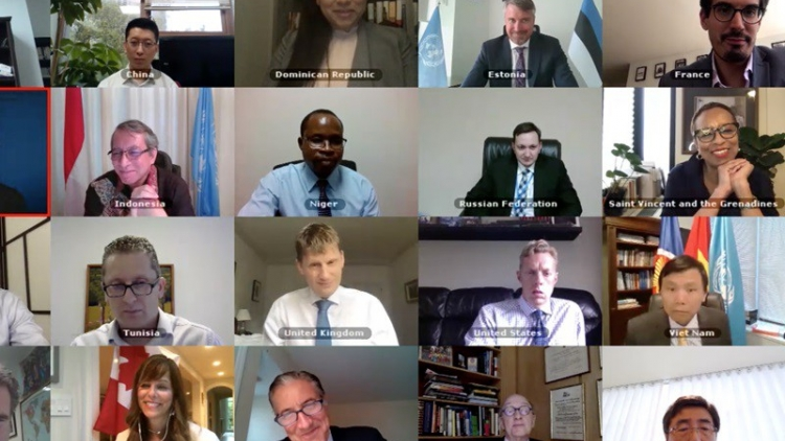 Hội đồng Bảo an thảo luận tác động của Covid-19 lên các nước xung đột