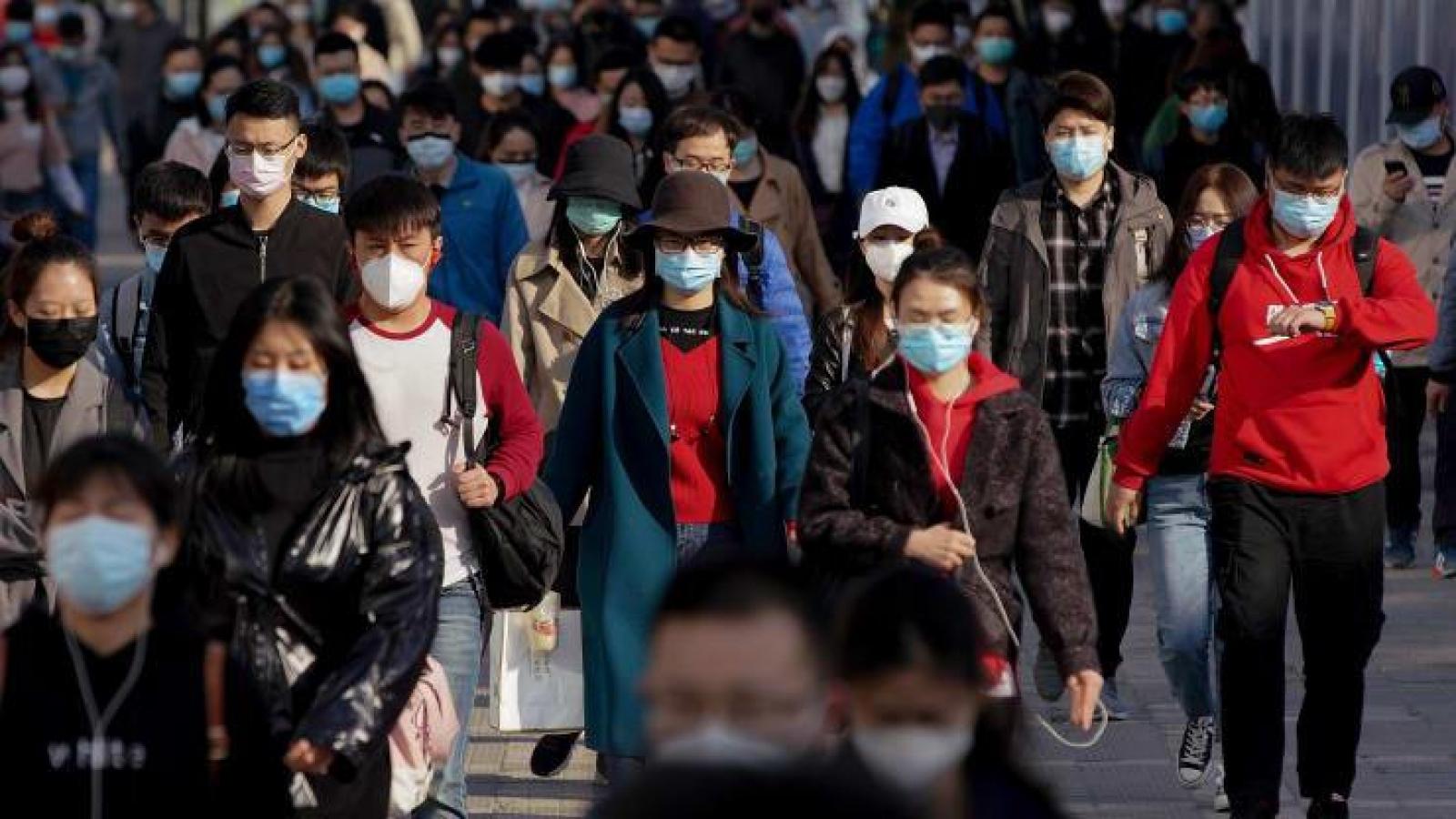 Các ca Covid-19 trong cộng đồng ở Trung Quốc chưa có dấu hiệu dừng lại