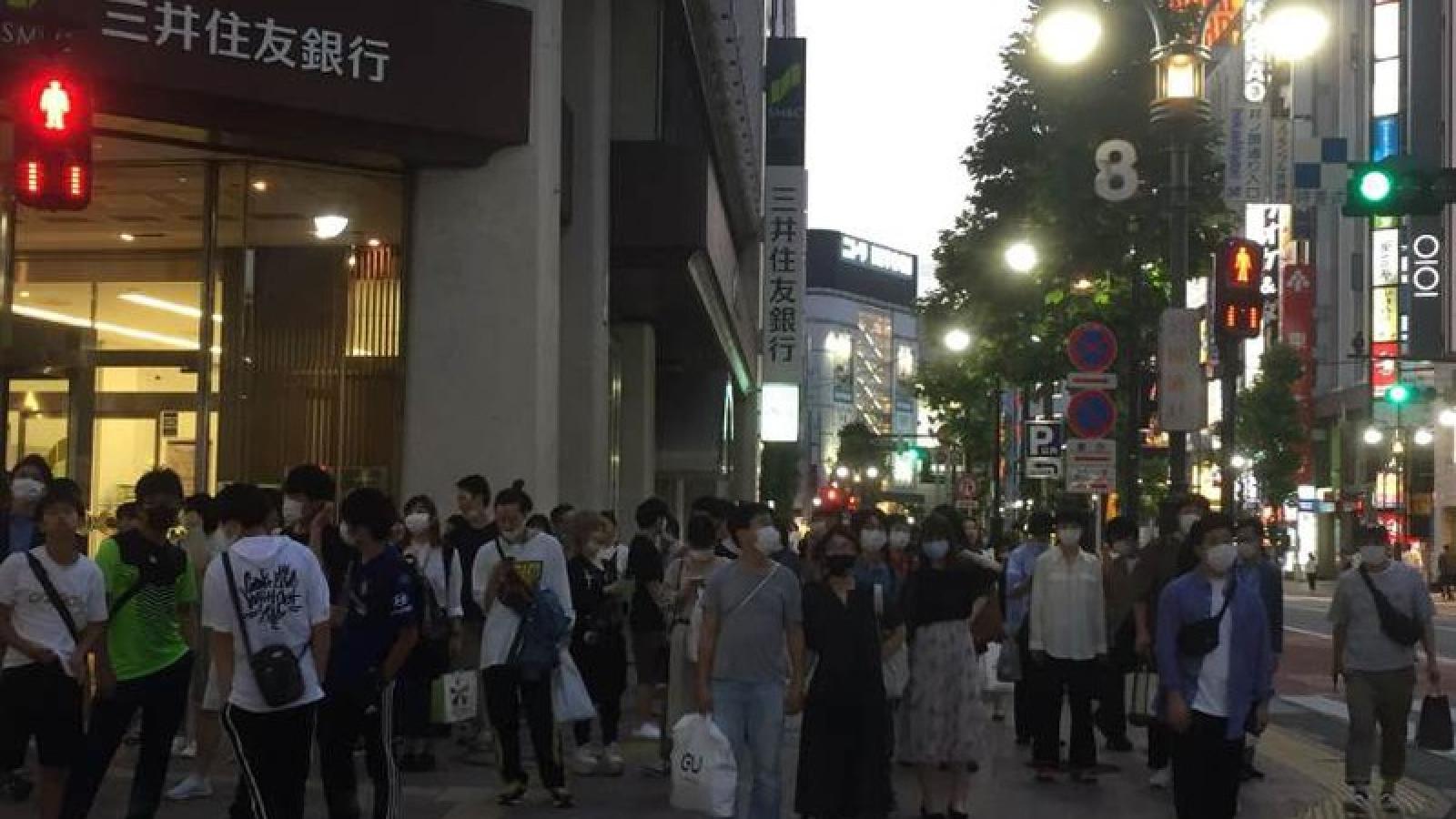 Ca nhiễm Covid-19 tại Nhật Bản chạm mốc thời đỉnh dịch