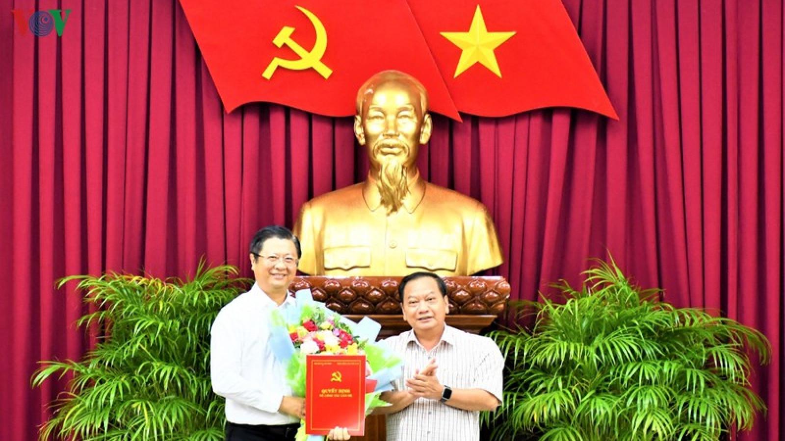 Phó Chủ tịch Cần Thơ được điều động làm Phó Trưởng Ban Đối ngoại TƯ
