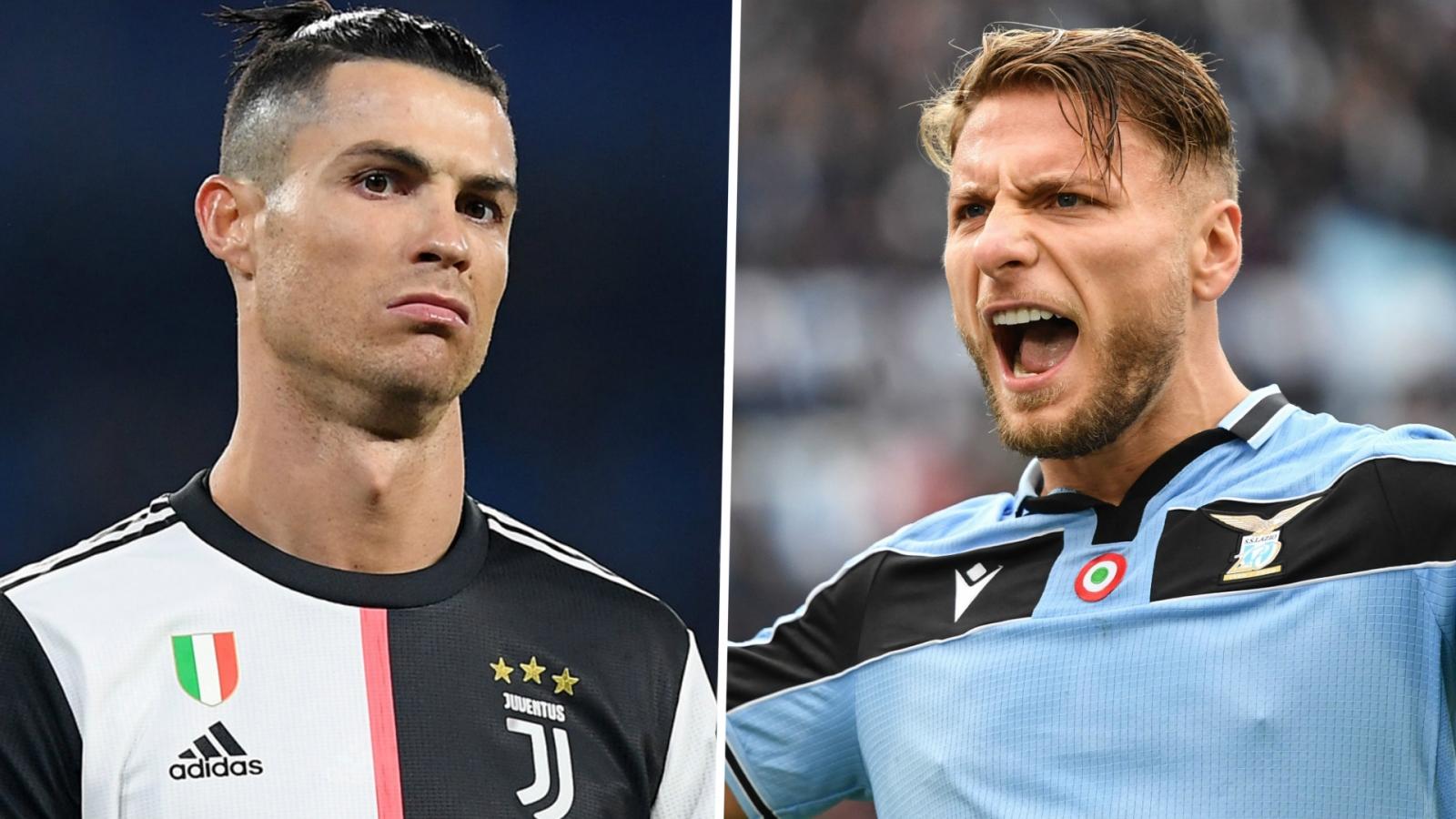 Cuộc đua vua phá lưới Serie A 2019/2020: Ronaldo khó lật đổ Immobile