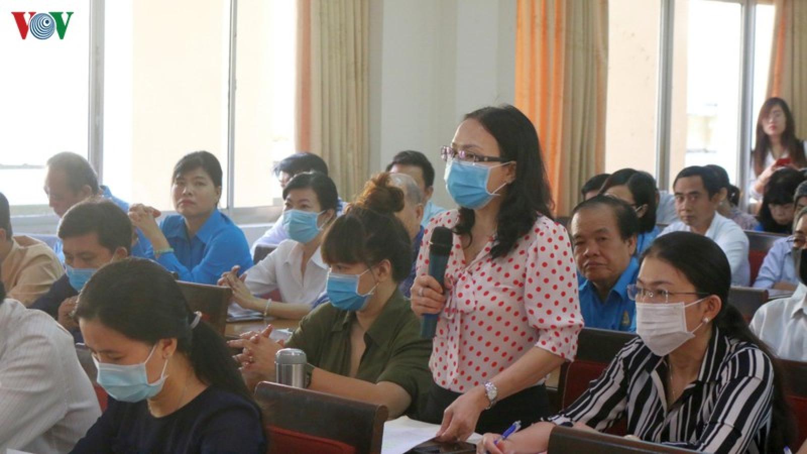 Liên đoàn Lao động góp ý vào Dự thảo văn kiện Đại hội Đảng bộ TPHCM