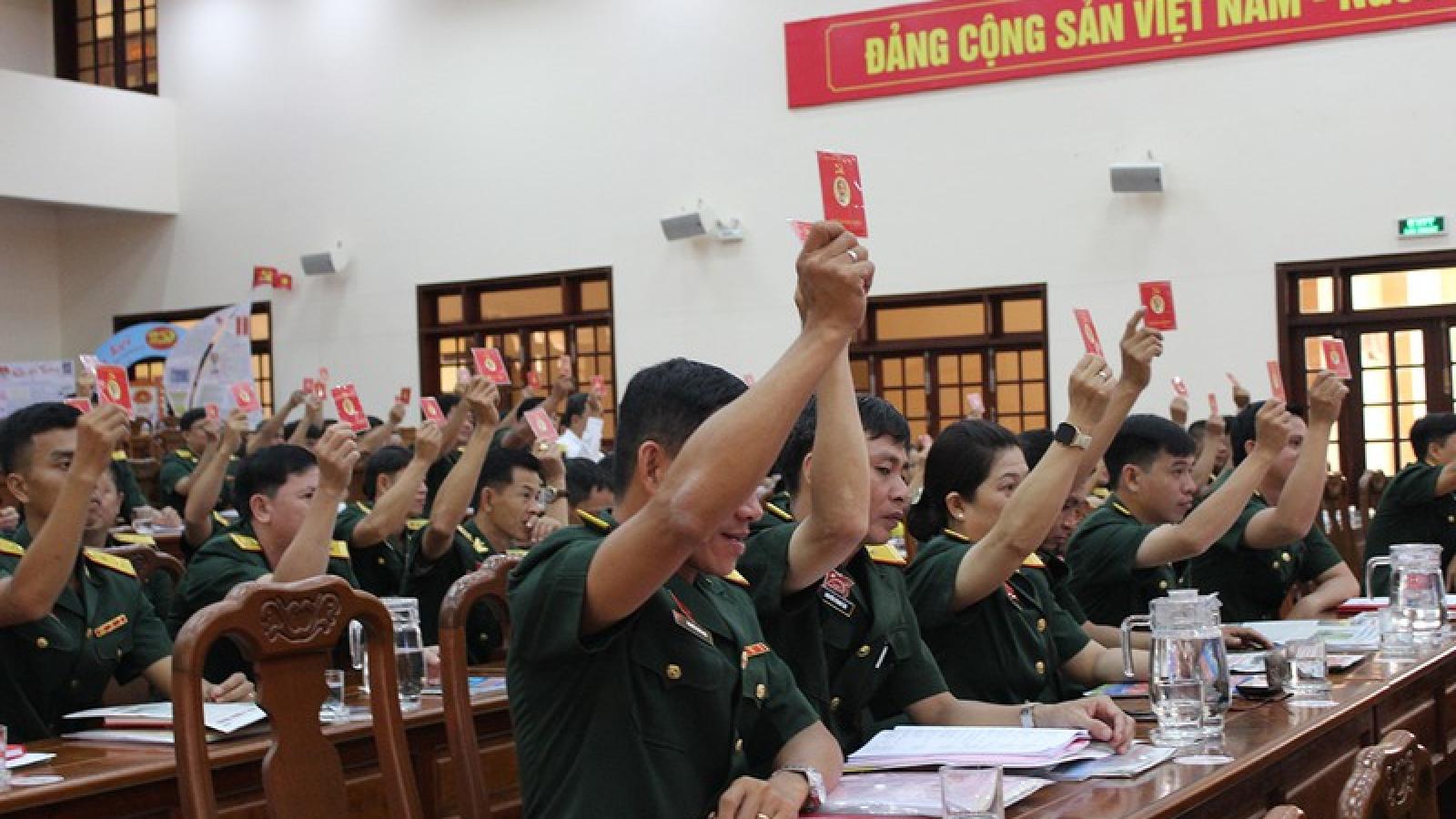 Đại hội Đảng bộ Quân sự TP Cần Thơ thống nhất 8 chỉ tiêu quan trọng