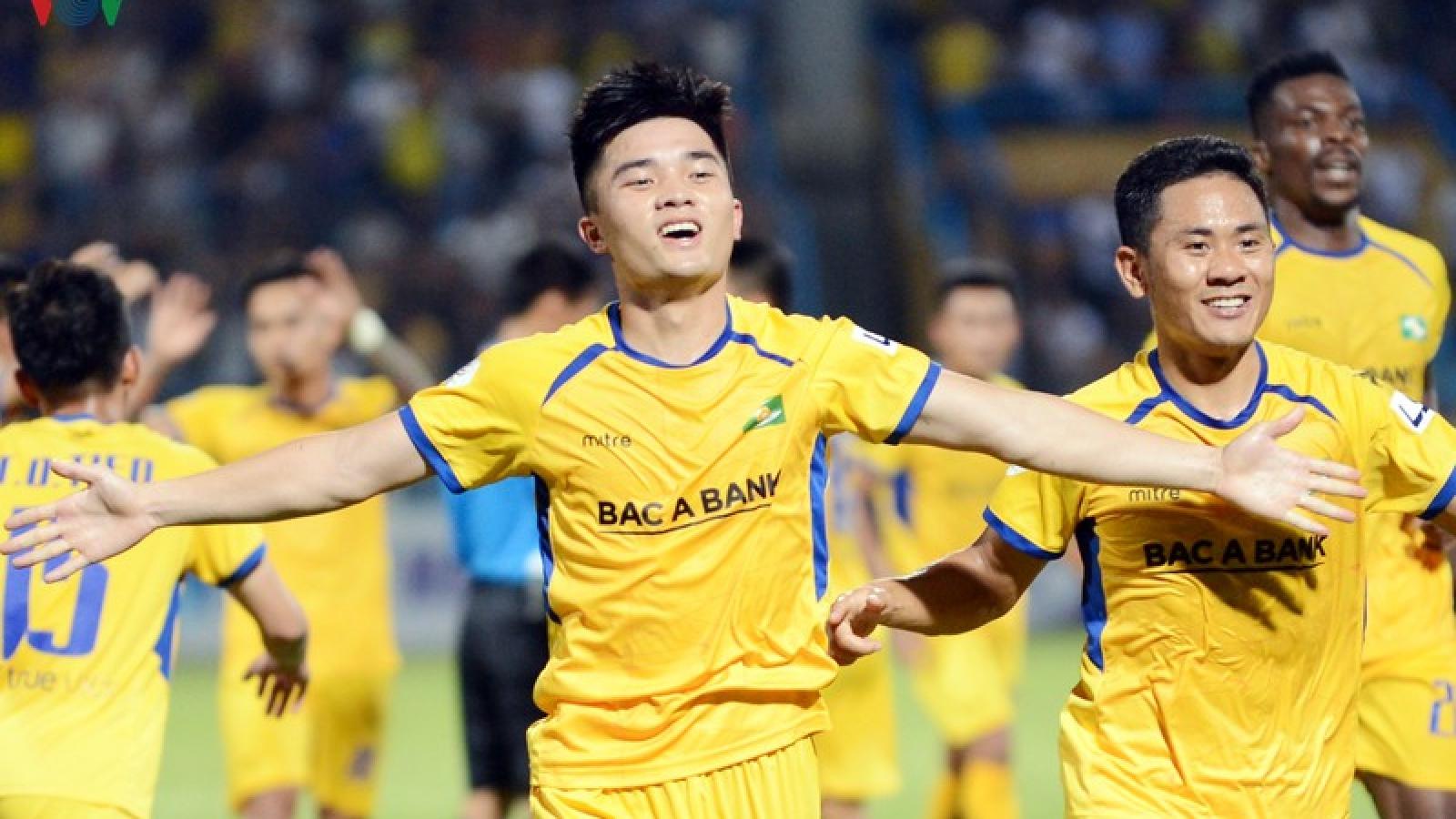 SLNA thiệt quân ở trận gặp Hồng Lĩnh Hà Tĩnh tại vòng 9 V-League 2020