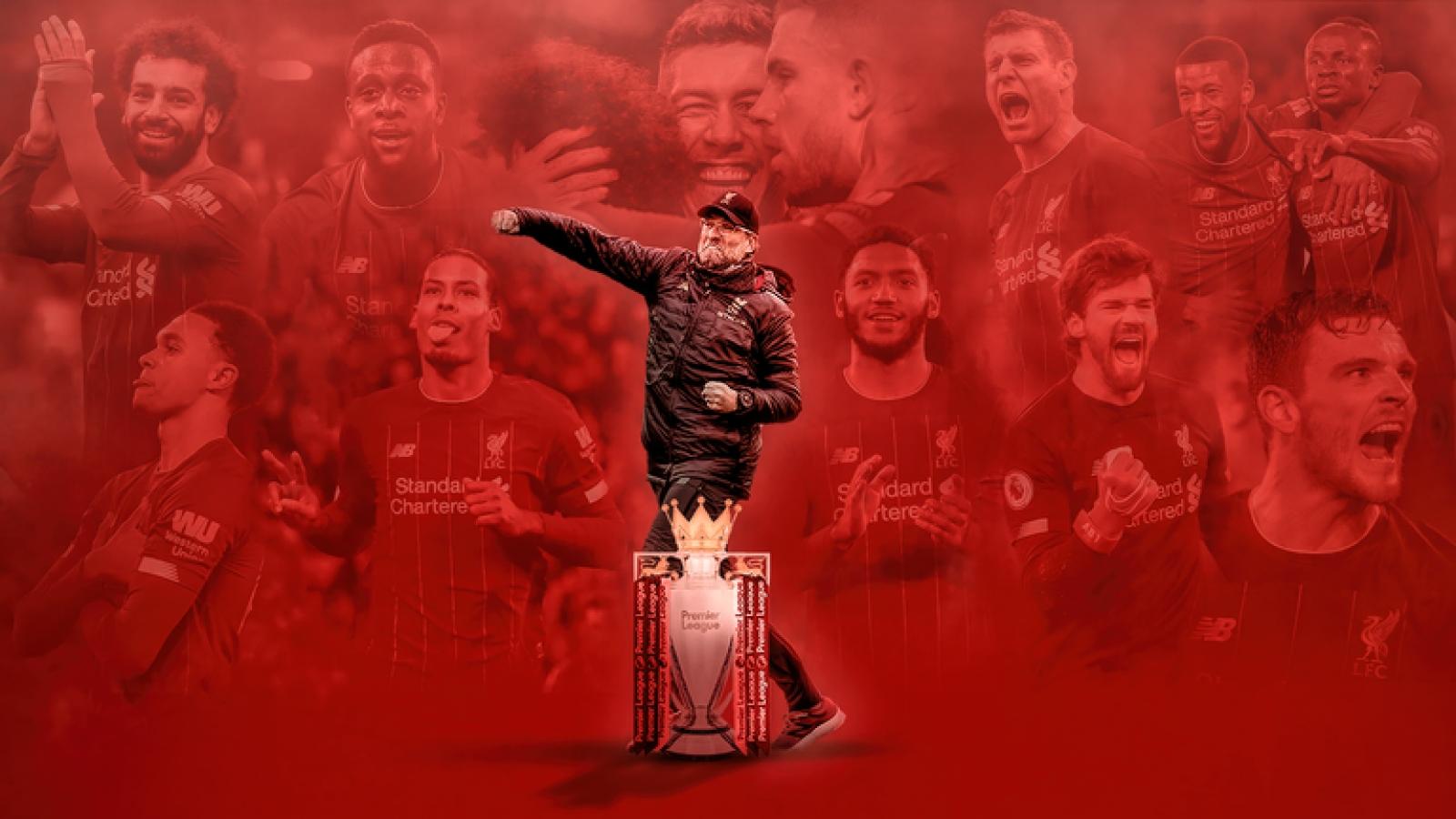 Liverpool sẽ nâng cúp vô địch Premier League vào đêm nay
