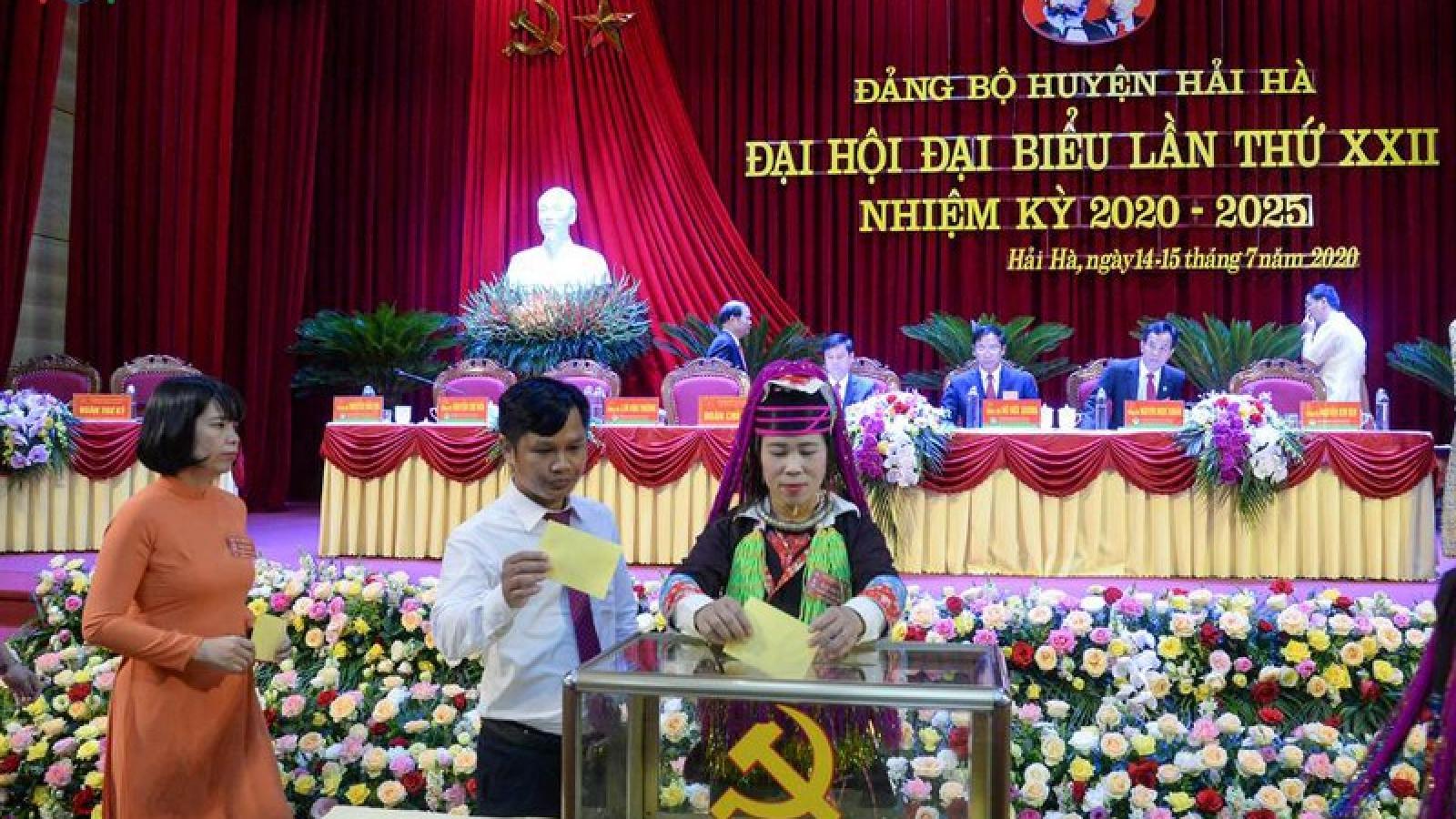 Quảng Ninh: Đại hội Đảng bộ huyện Hải Hà bầu trực tiếp Bí thư huyện ủy
