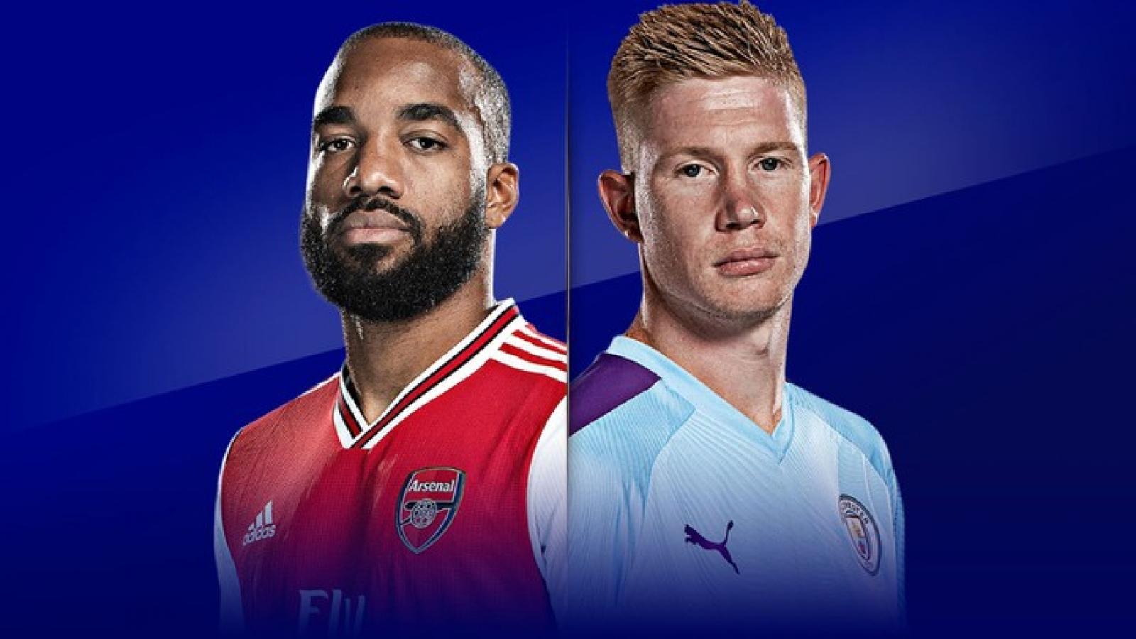 Đội hình dự kiến Arsenal - Man City: Bán kết FA Cup 2019/2020
