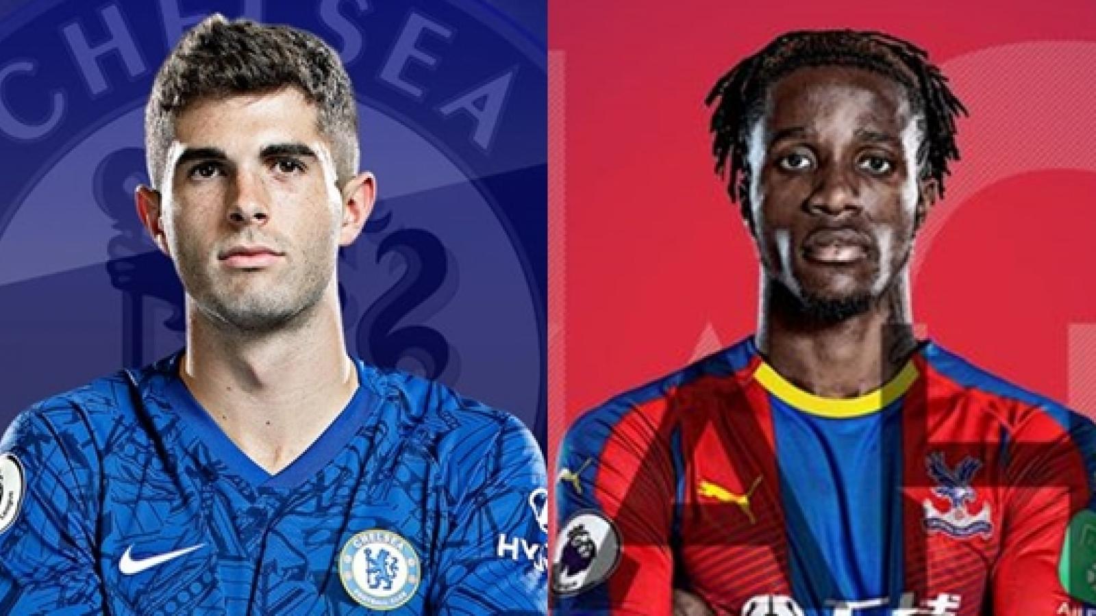 Đội hình dự kiến Crystal Palace - Chelsea: Pulisic đá cặp Giroud?