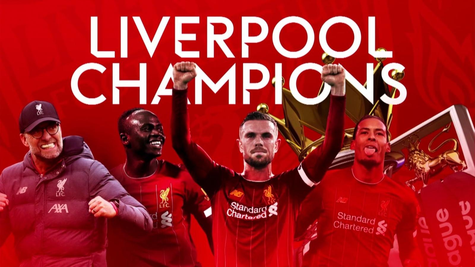 Liverpool ra sân với đội hình nào trong ngày nhận cúp Premier League?