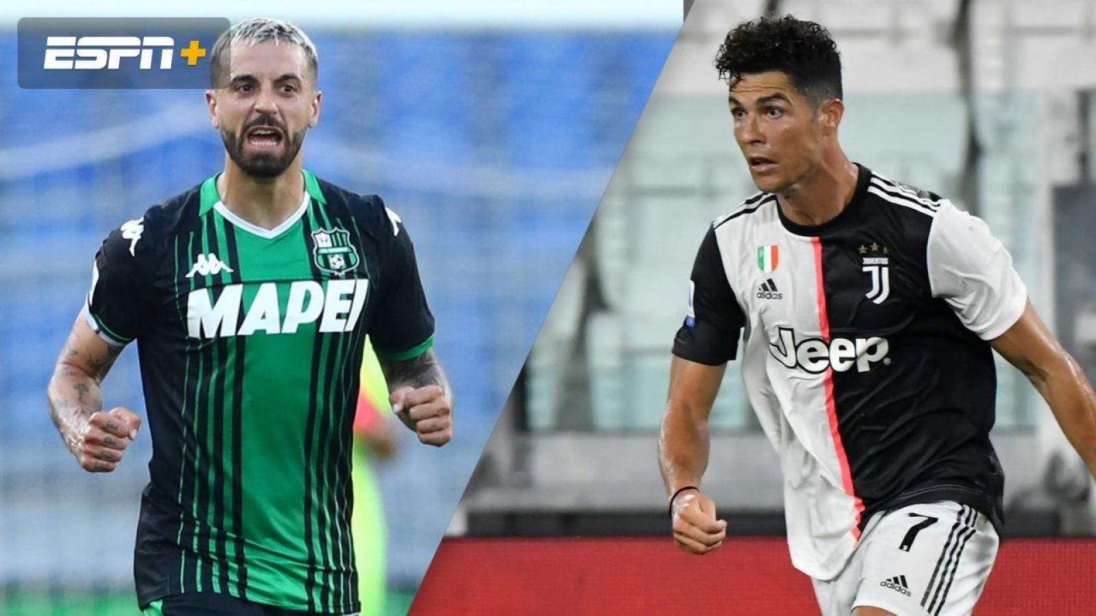 Đội hình dự kiến Sassuolo - Juventus: Vòng 33 Serie A 2019/2020