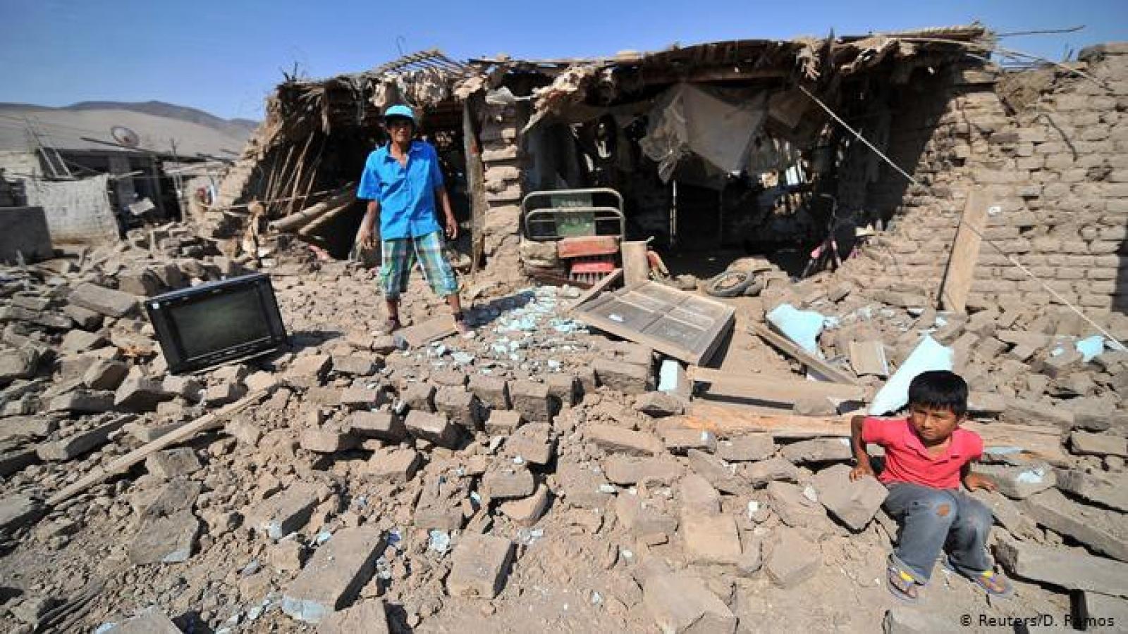Động đất mạnh 5,3 độ tại Peru