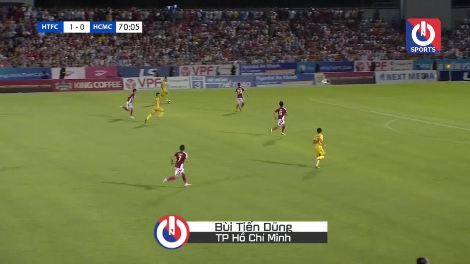 5 pha cứu thua ấn tượng nhất vòng 10 V-League: Gọi tên Tiến Dũng, Văn Toản