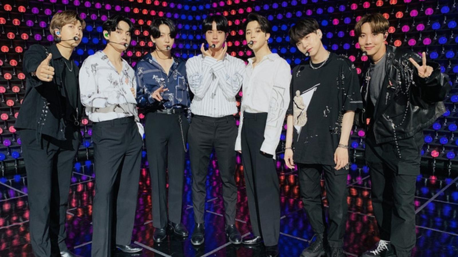 """BTS lập kỷ lục Guinness với concert trực tuyến """"Bang Bang Con"""""""