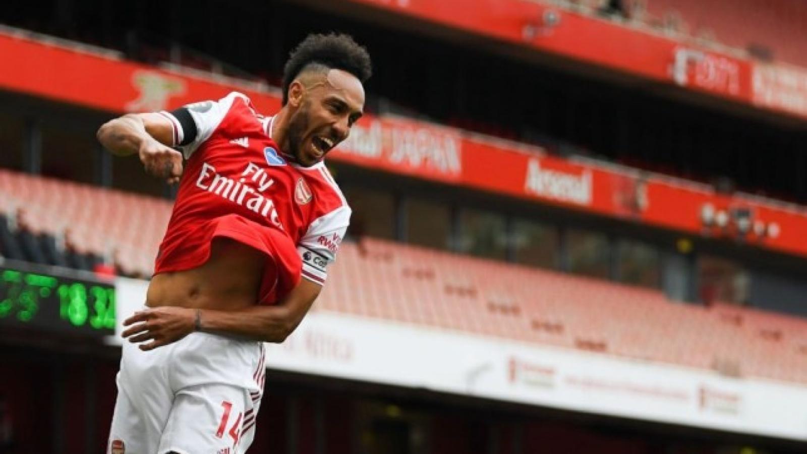 Aubameyang xô đổ kỷ lục khủng của huyền thoại Thierry Henry