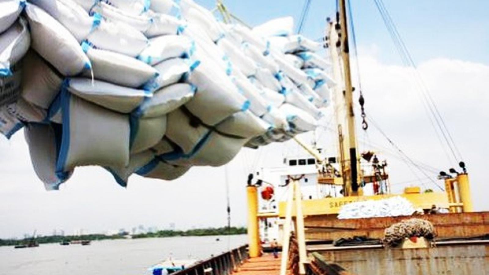 Mục tiêu xuất khẩu 6,7 triệu tấn gạo năm 2020 có thể sẽ cán đích
