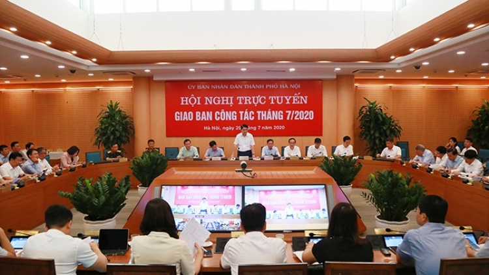 Hà Nội khởi động lại các Ban chỉ đạo chống dịch Covid-19 ở các cấp