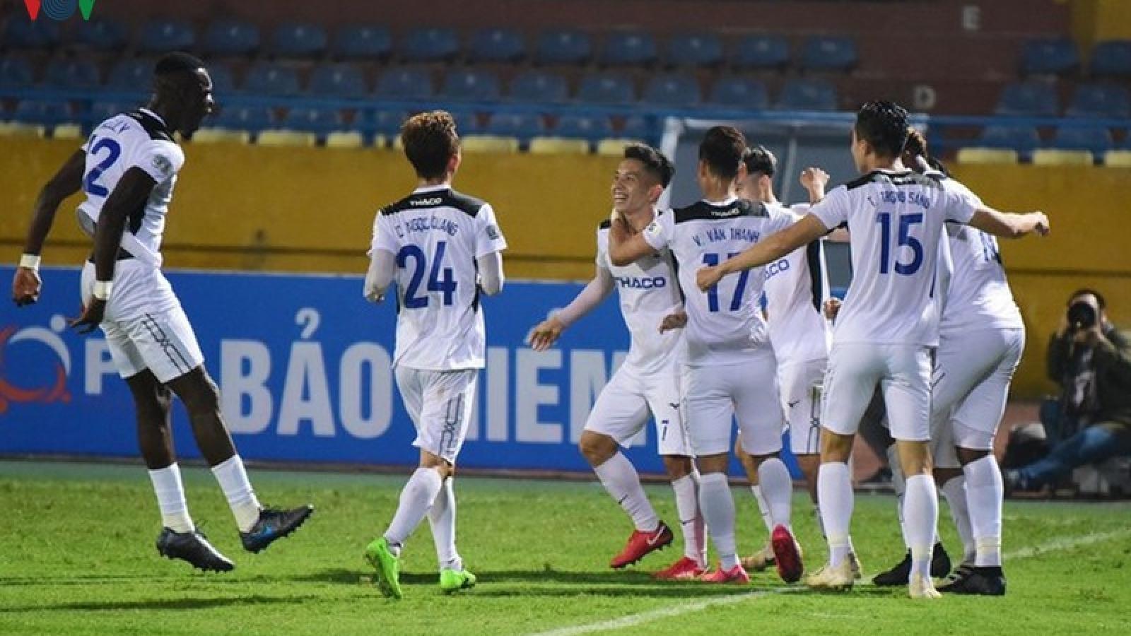 Vòng 9 V-League 2020: HAGL và Thanh Hóa gặp khó