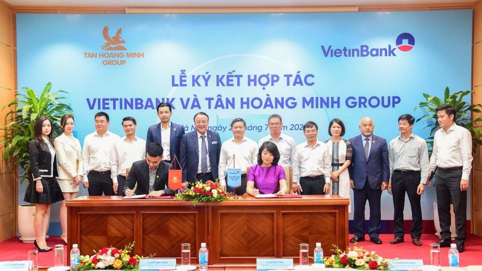 VietinBank và Tân Hoàng Minh ký kết thỏa thuận hợp tác