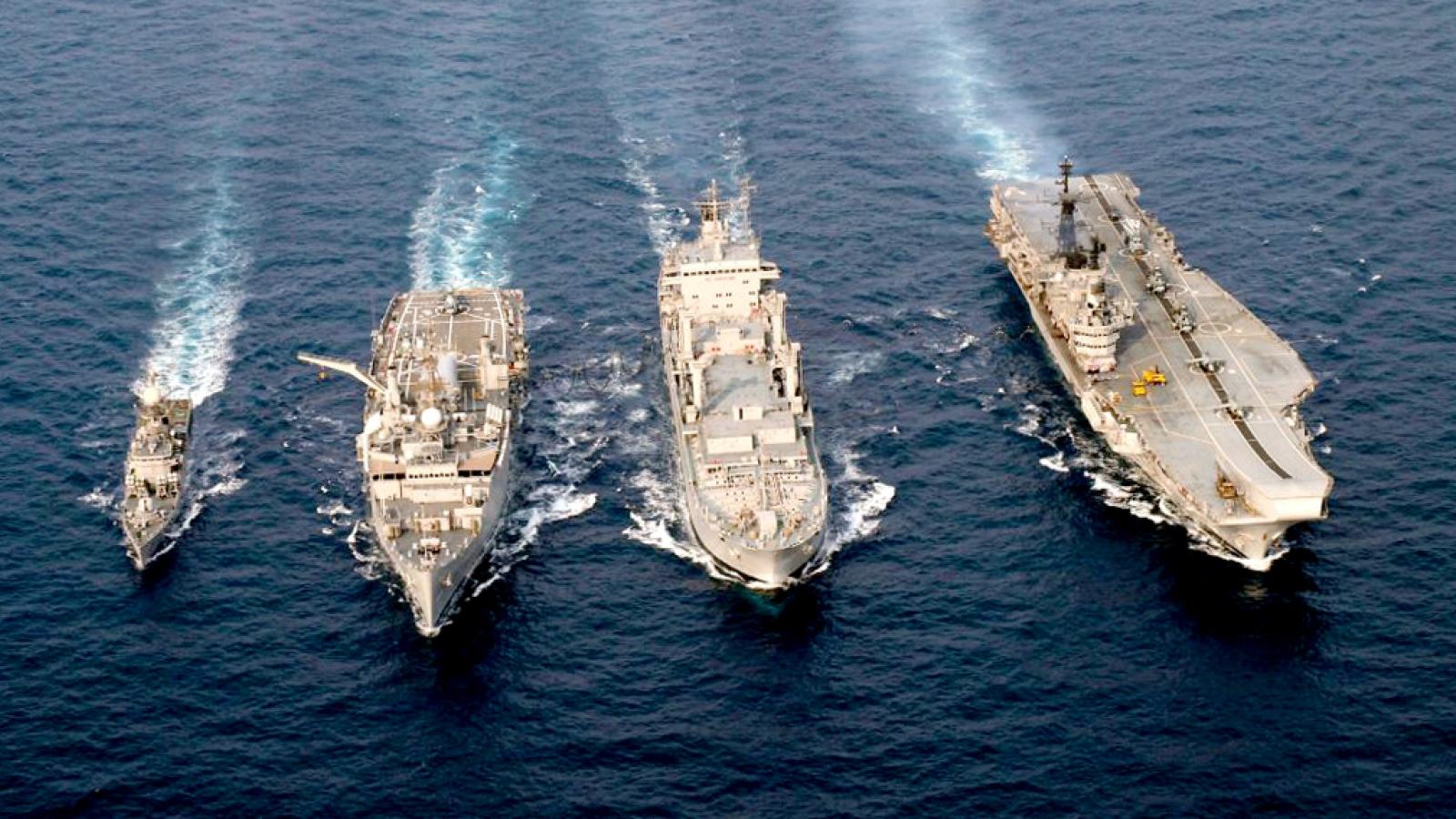 Ấn Độ tính mời Australia dự tập trận hải quân