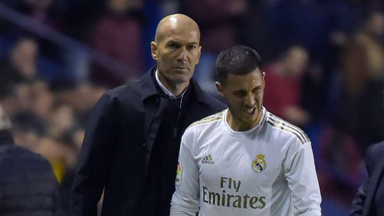 HLV Zidane báo tin không vui tới cổ động viên Real Madrid
