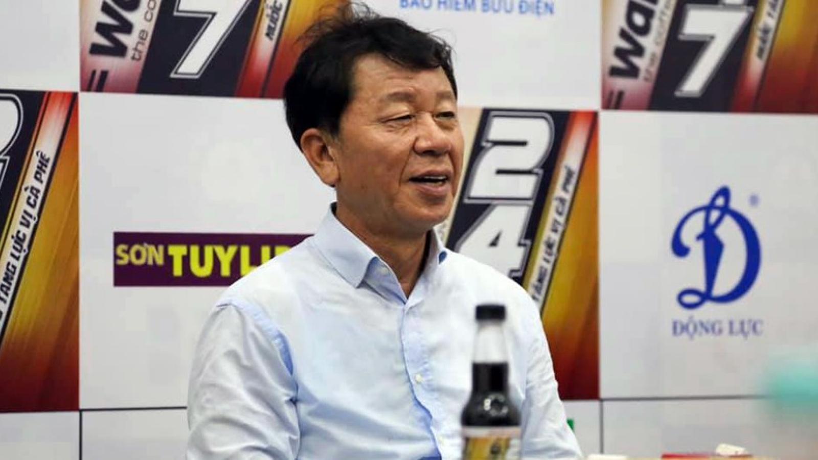 CHÍNH THỨC: HLV Chung Hae Seong thôi dẫn dắt CLB TPHCM