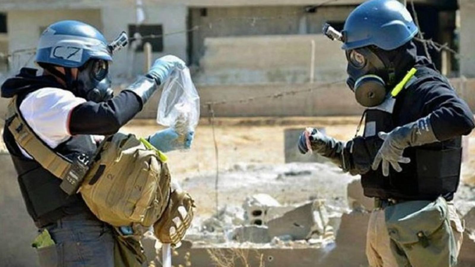Tổ chức cấm vũ khí hóa học lên án sử dụng chất độc thần kinh ở Syria