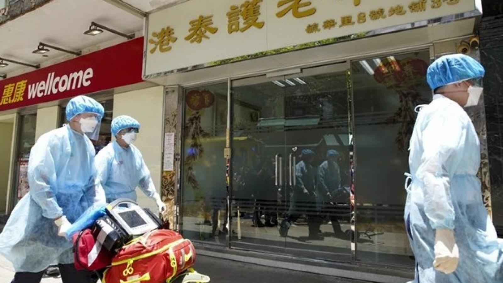 Số ca Covid-19 tăng mạnh trở lại ở Hong Kong (Trung Quốc)