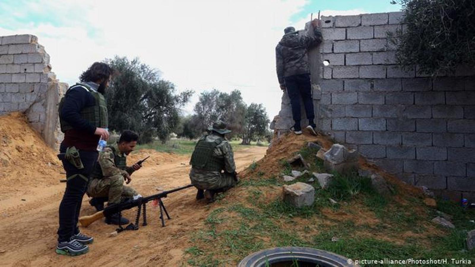 Pháp, Đức, Italia sẽ trừng phạt cường quốc vi phạm lệnh cấm vận vũ khí với Libya