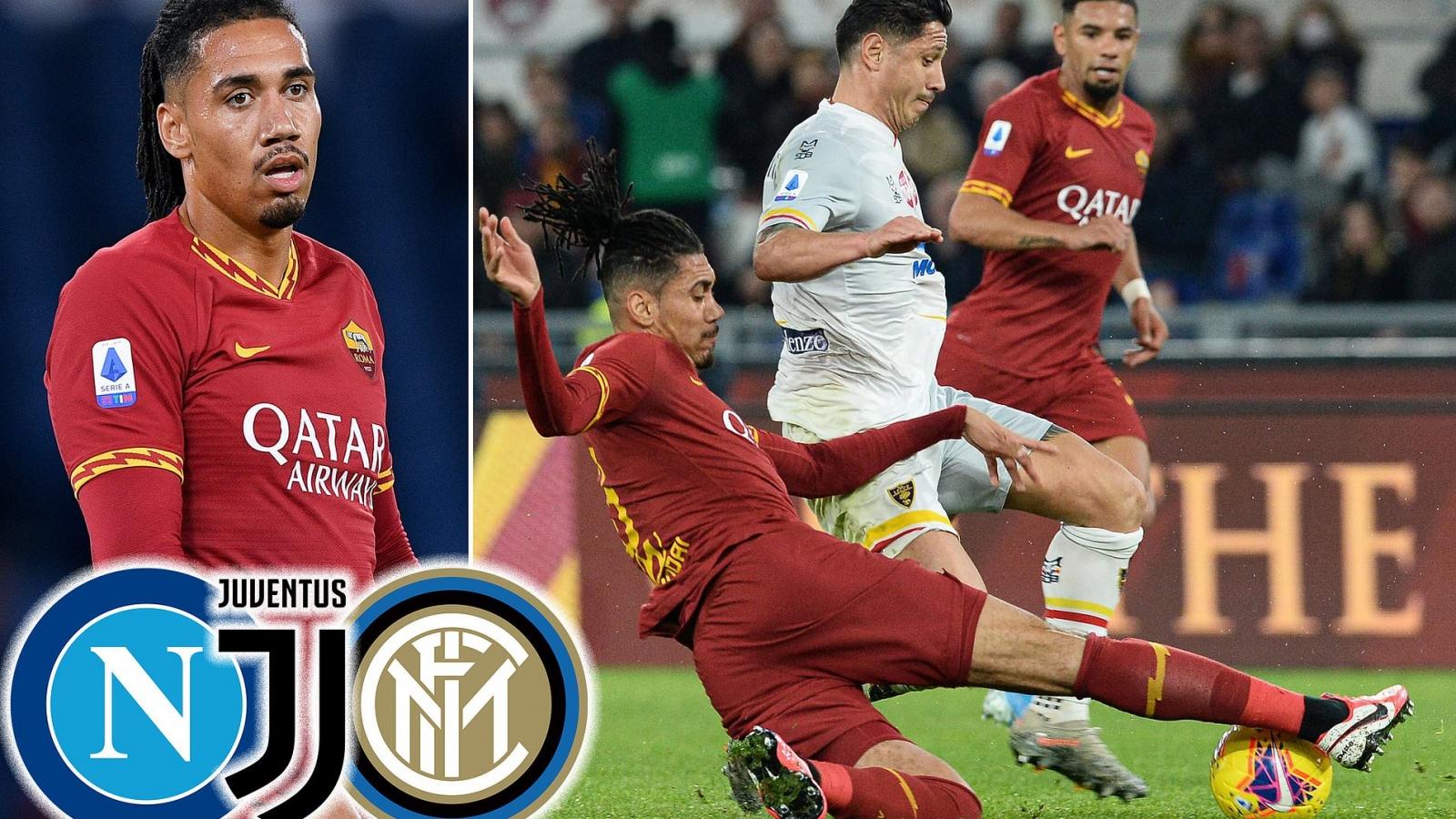 Juventus, Inter Milan, Napoli tranh nhau mua Chris Smalling từ MU