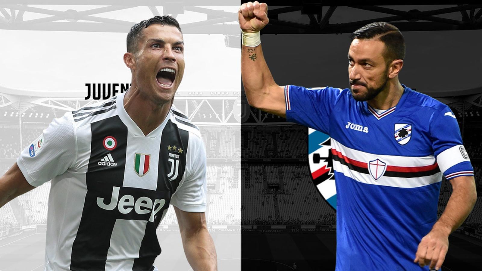 Đội hình dự kiến Juventus - Sampdoria: Lên ngôi vô địch cùng Ronaldo?