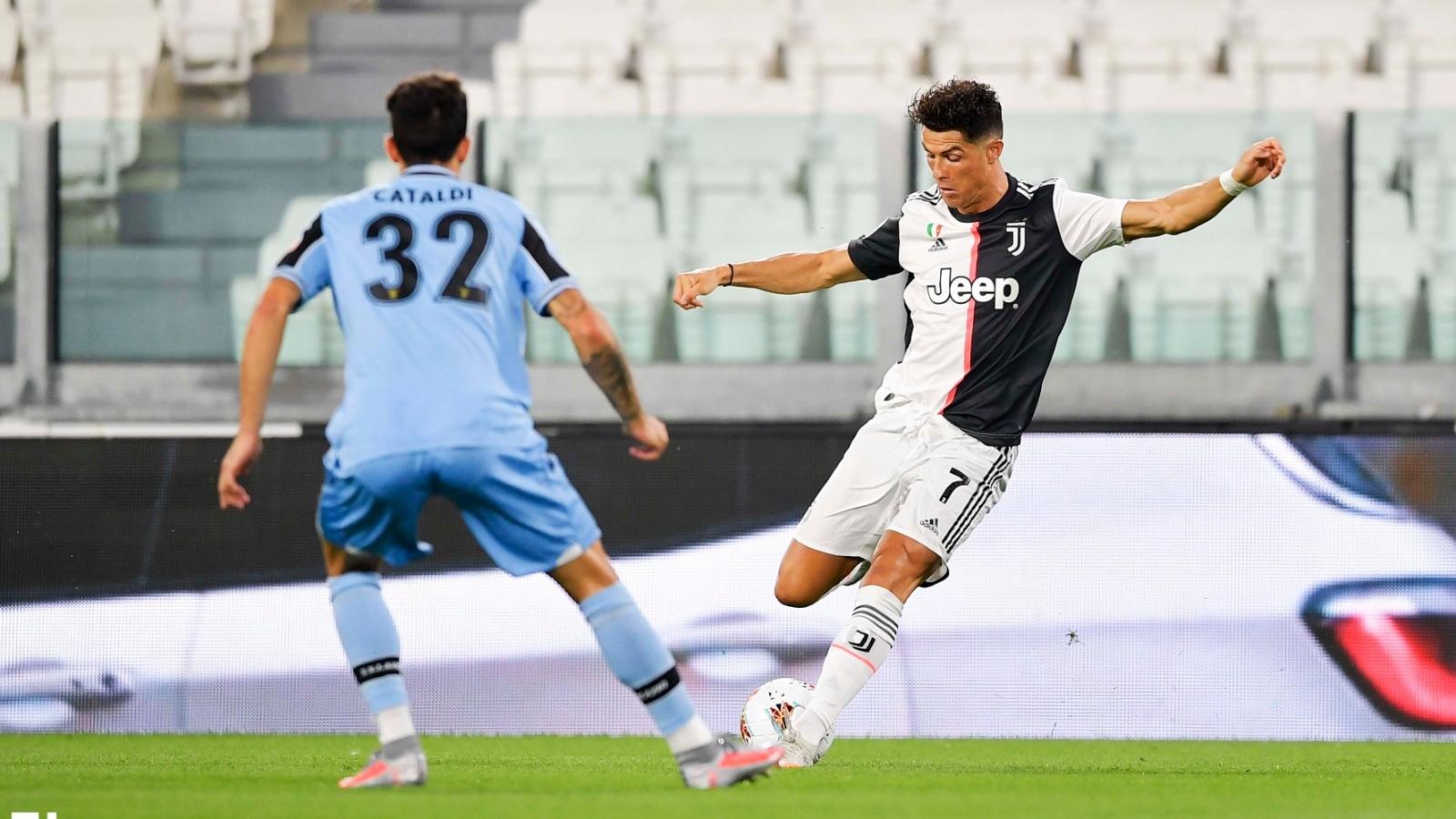 """Cuộc đua """"Vua phá lưới"""" Serie A 2019/2020: Cờ đến tay Ronaldo"""