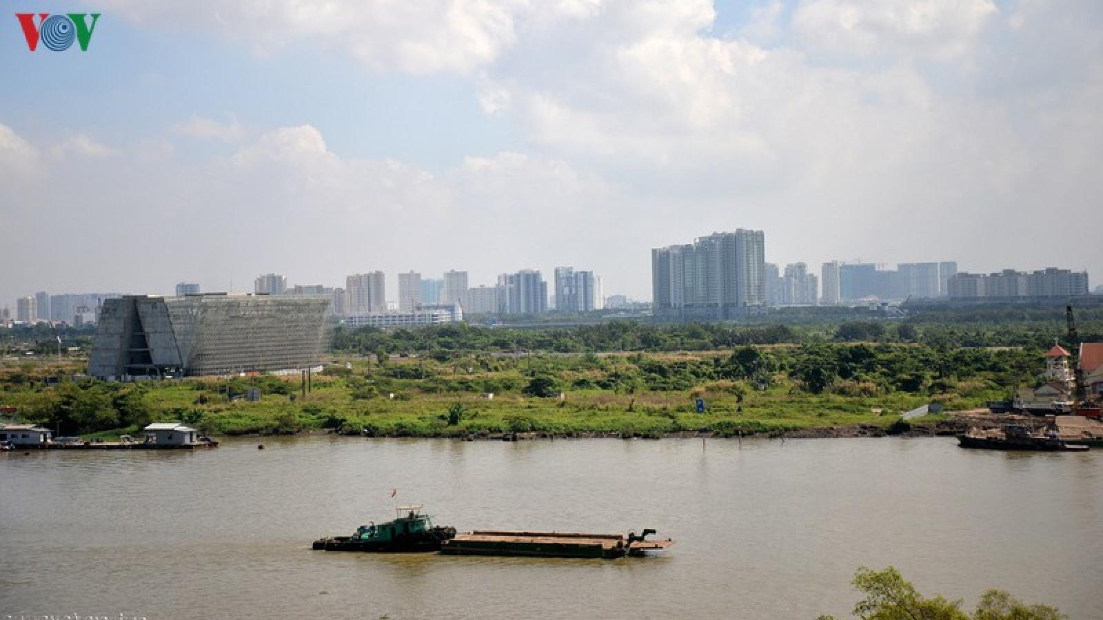 TP HCM sẽ tiếp tục đấu giá các lô đất ở Thủ Thiêm