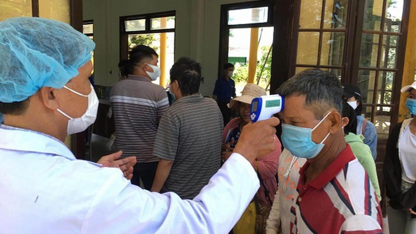 Thừa Thiên Huế lập 8 chốt kiểm tra y tế phòng dịch Covid-19