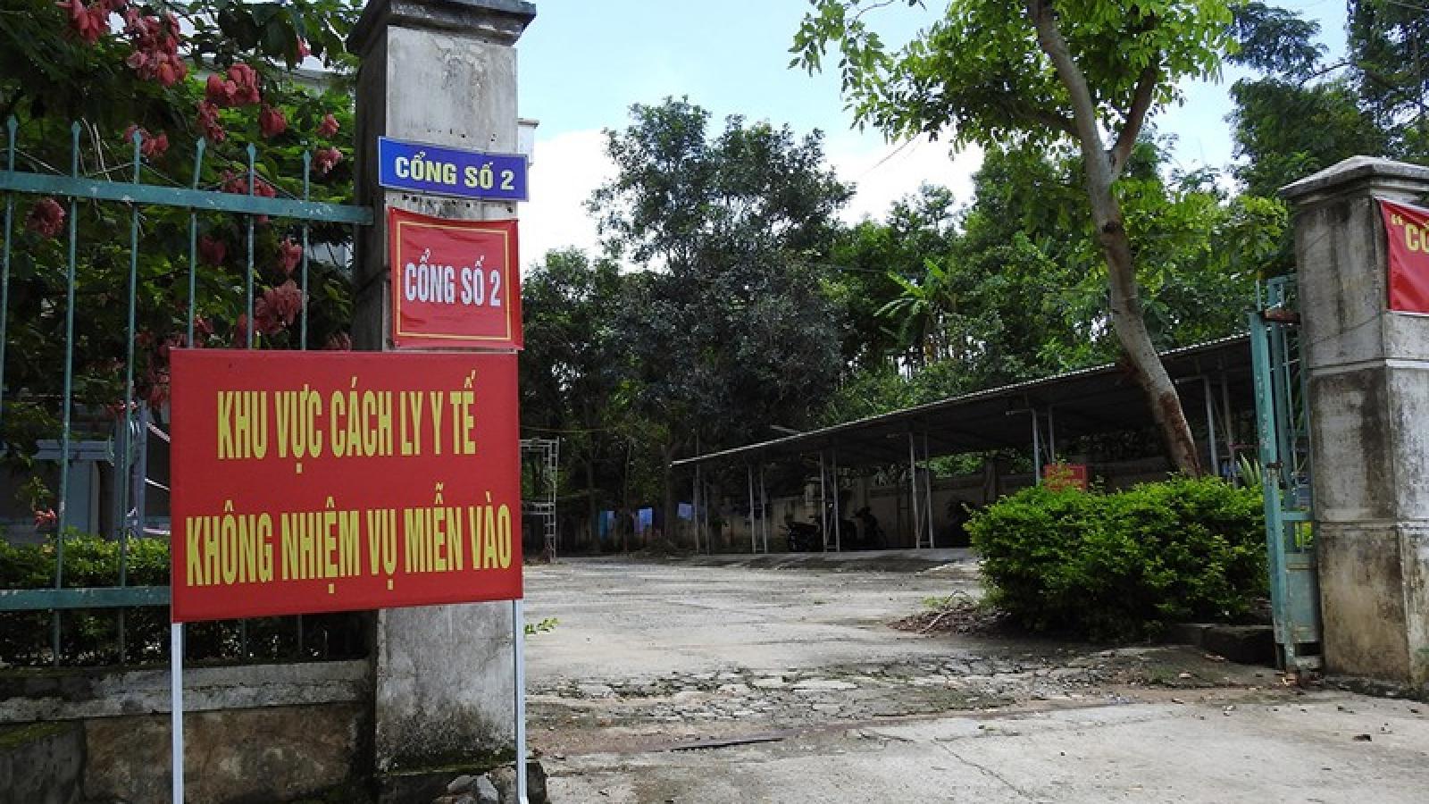 Các tỉnh Kon Tum, Bình Dương tiếp tục cách ly người từ vùng dịch về
