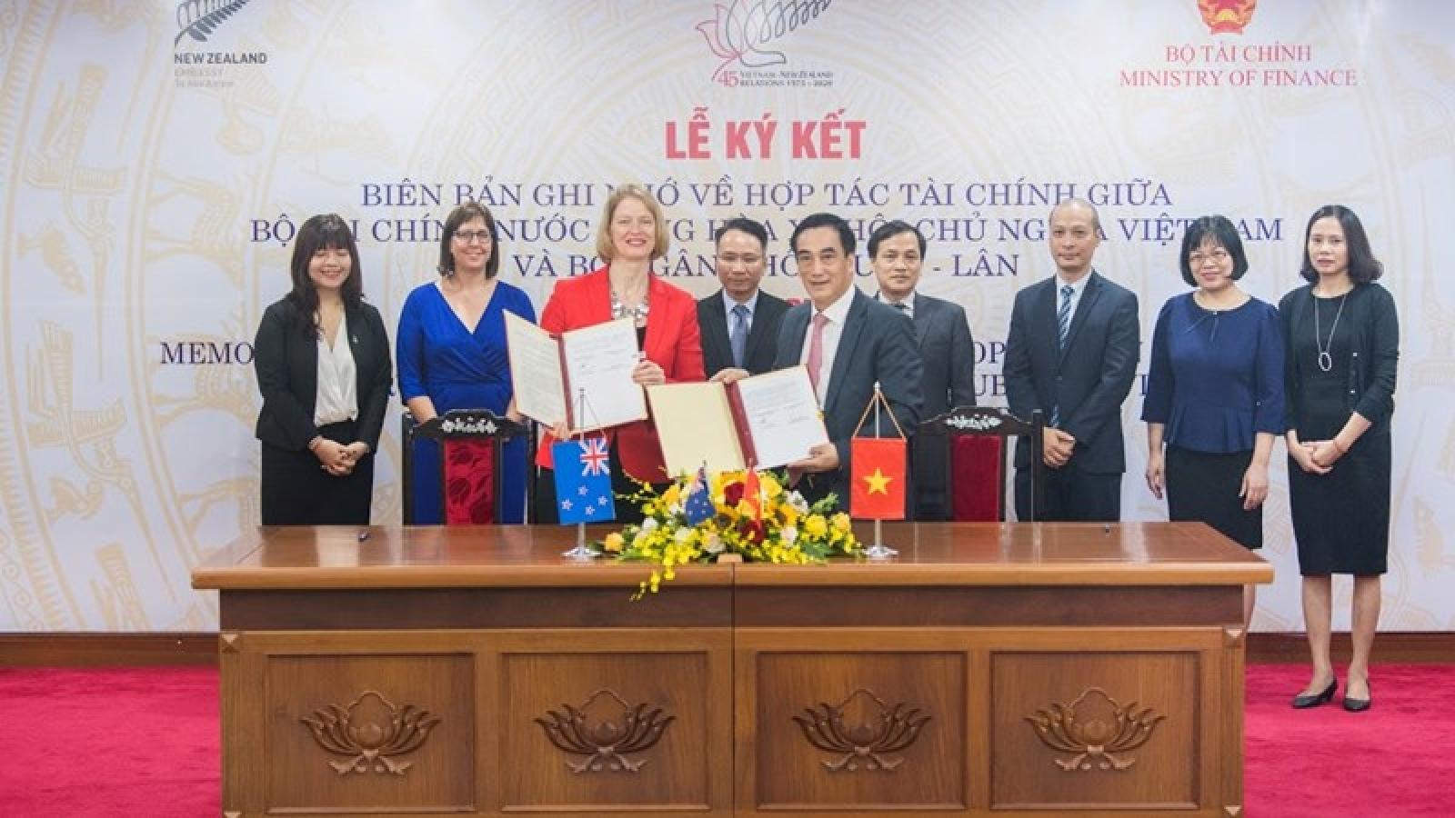 Tăng cường hợp tác tài chính giữa Việt Nam – New Zealand