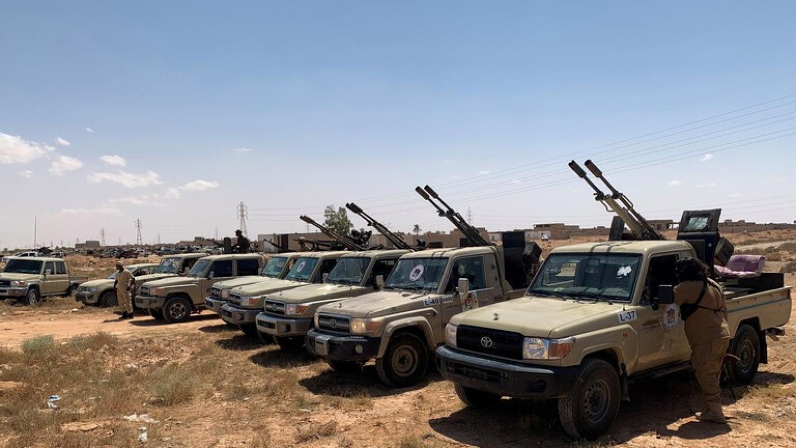 Quân đội quốc gia Libya phá hủy 3 xe tăng của Thổ Nhĩ Kỳ