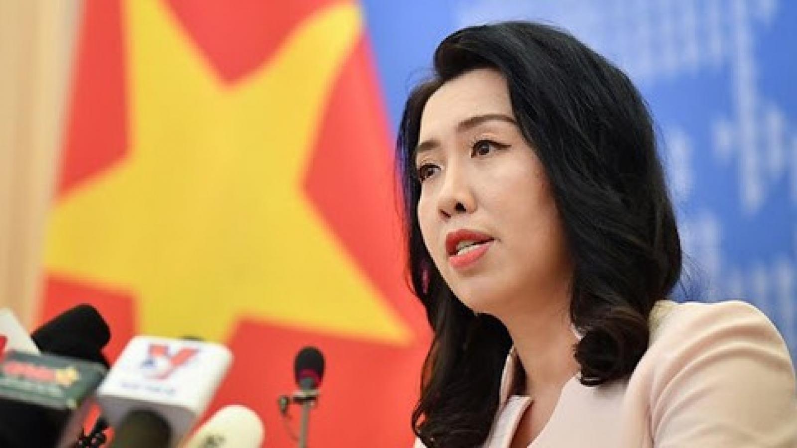Bộ Ngoại giao phản ứng về tuyên bố trên Twitter của Trung Quốc về Biển Đông
