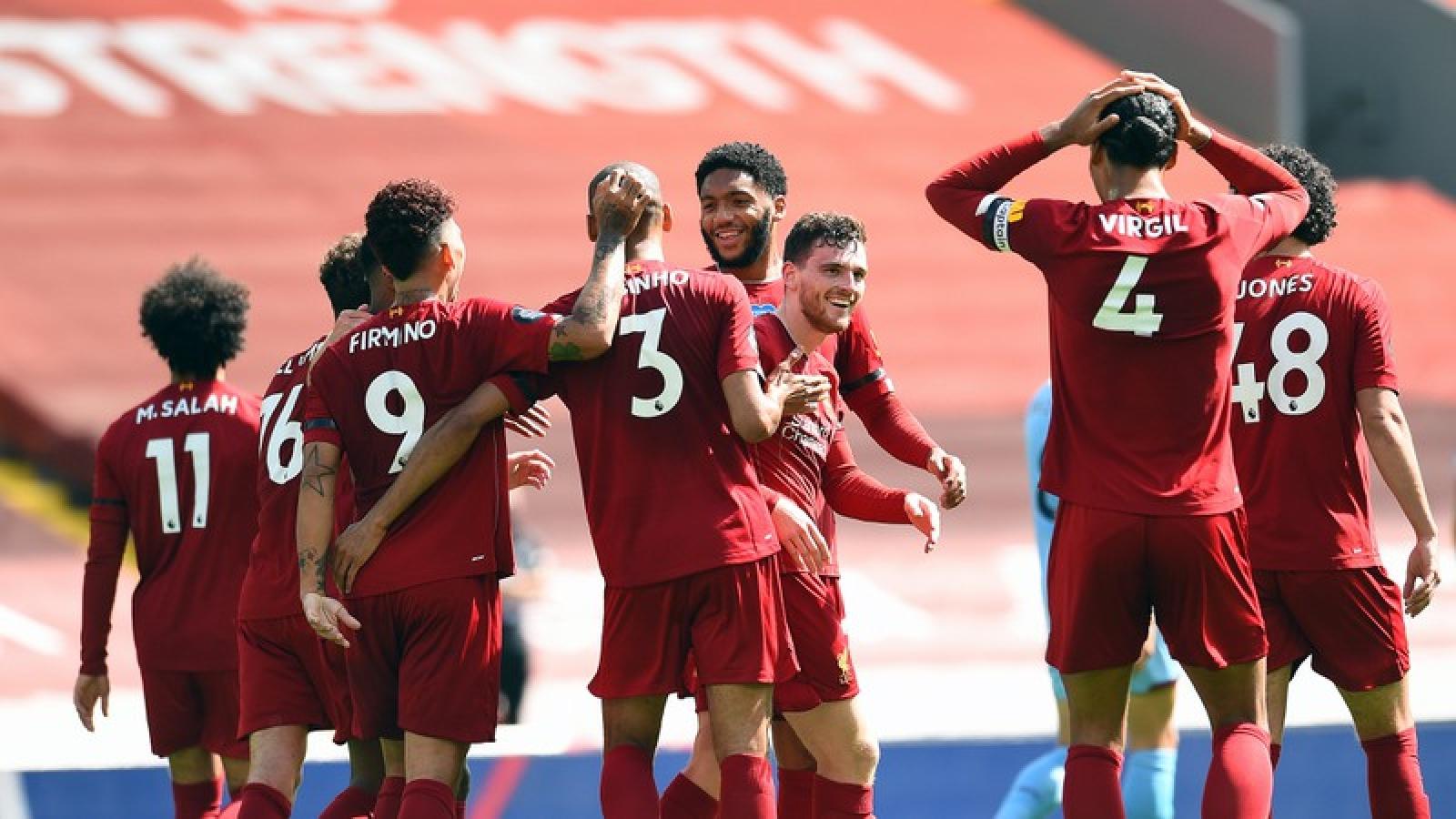 """Salah bất lực trước """"người nhện"""", Liverpool bị Burnley cầm hòa"""