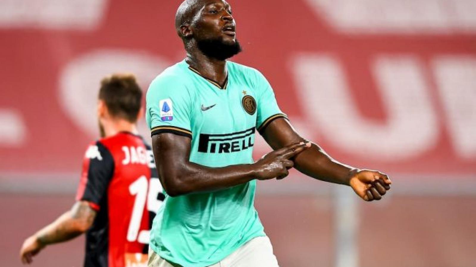 Lukaku đưa Inter trở lại ngôi nhì, Juventus cần thêm 3 điểm để vô địch