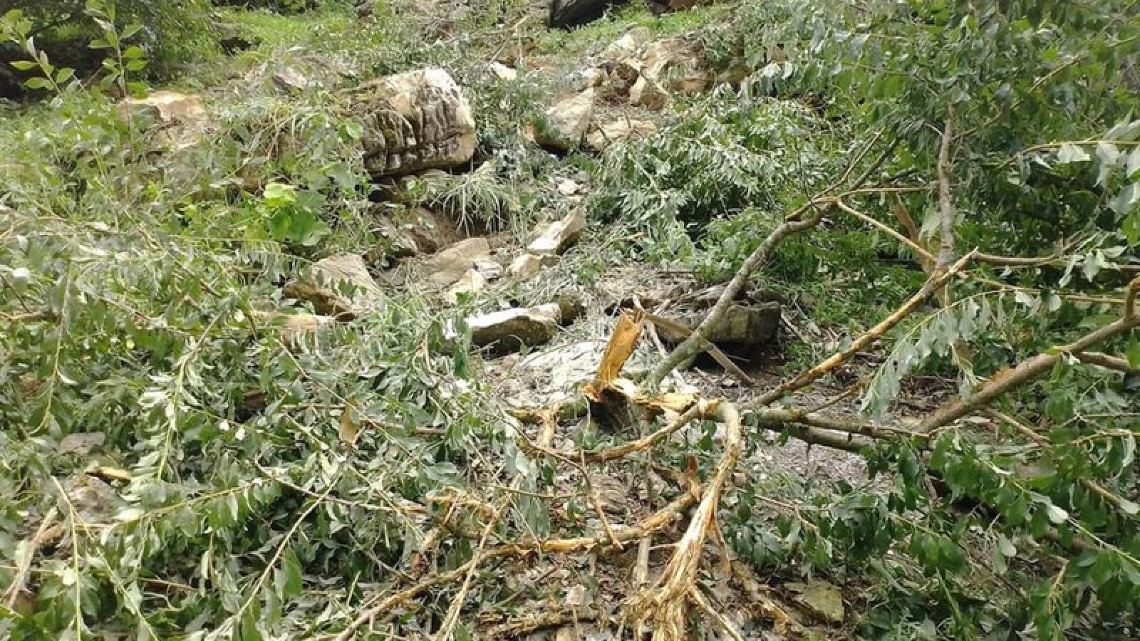 Huyện Mộc Châu rà soát khu vực có nguy cơ sạt lở sau động đất