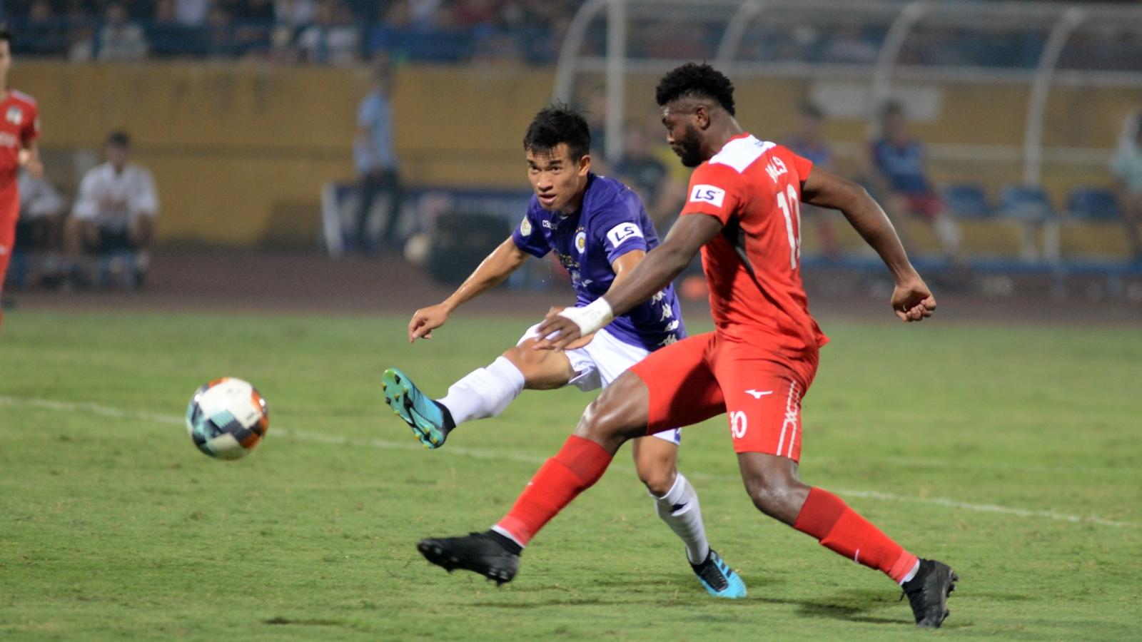 """Vòng 10 V-League 2020: """"Cơ hội vàng"""" của Hà Nội FC và HAGL"""