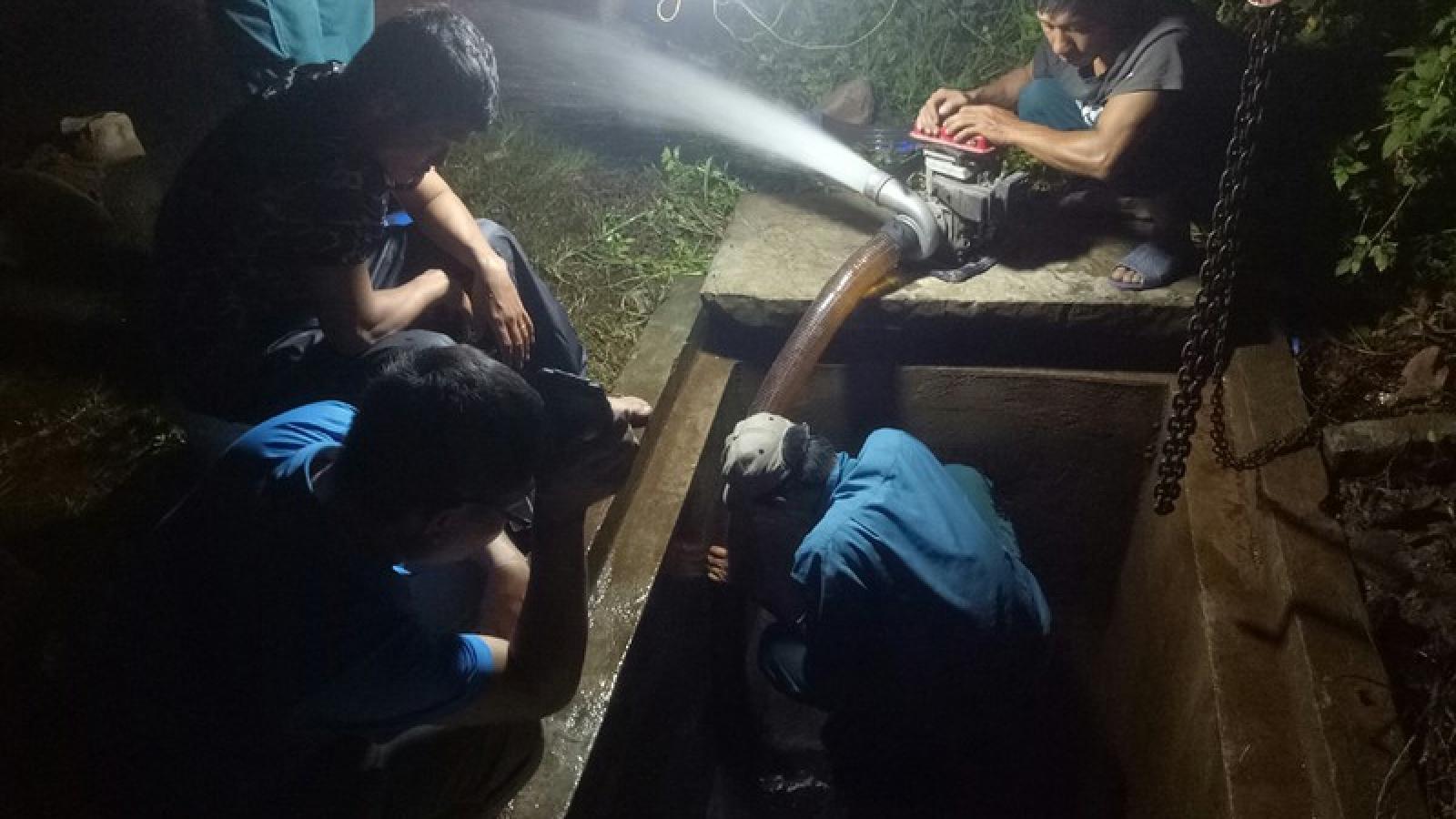 Khẩn trương khắc phục tình trạng nước bẩn tại Quảng Yên