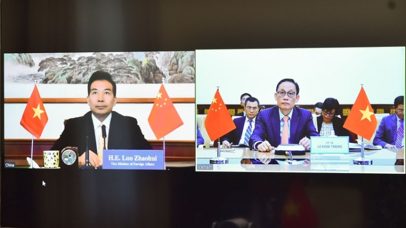 Việt Nam - Trung Quốc trao đổi về hợp tác song phương