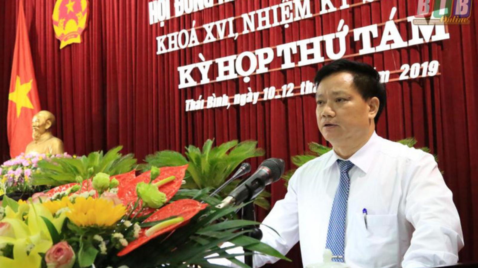 Thái Bình khẳng định bổ nhiệm Phó Chủ tịch UBND tỉnh đúng quy trình